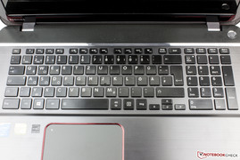 The keyboard has 102 keys.