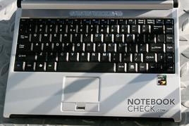 MSI Megabook PR211 Keyboard