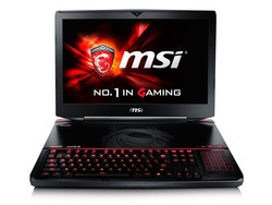 In review: MSI GT80S 6QF Titan SLI. Test model courtesy of MSI Taiwan.