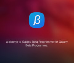 Even the text seems to be beta. Samsung released an app to apply for the Android 7 beta.
