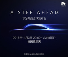 Huawei will introduce the Mate 9 and the Mate 9 Pro on November 3rd.