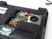 Zusammen mit dem integrierten Intel GMA 4500M HD Grafikchip ist das Notebook vor allem für den Einsatz bei Office Anwendungen gedacht.