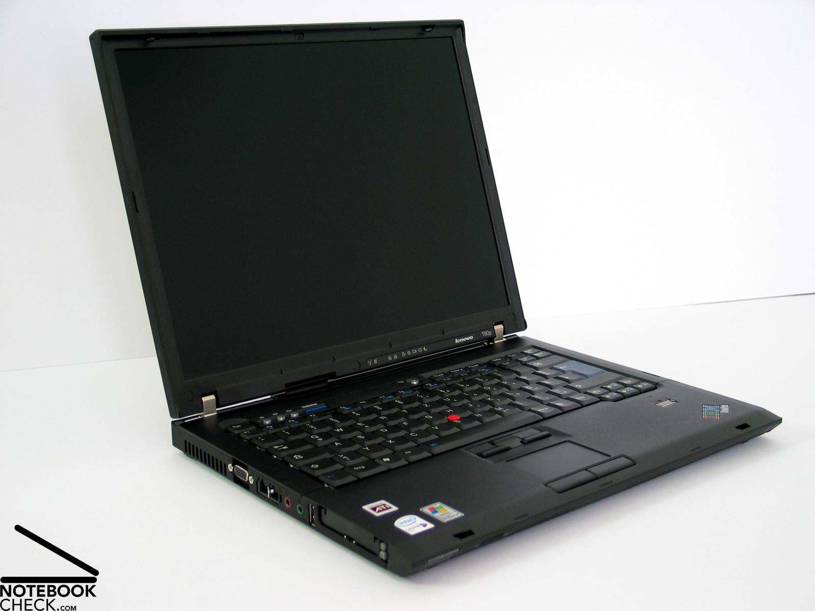 Review Lenovo / IBM Thinkpad T60p UXGA Notebook - NotebookCheck.net Reviews