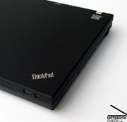 ...as well as concerning the craftsmanship and stability of the case, the new W500 is in no way inferior to the previous Thinkpads.