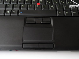 Lenovo Thinkpad W500 Touchpad