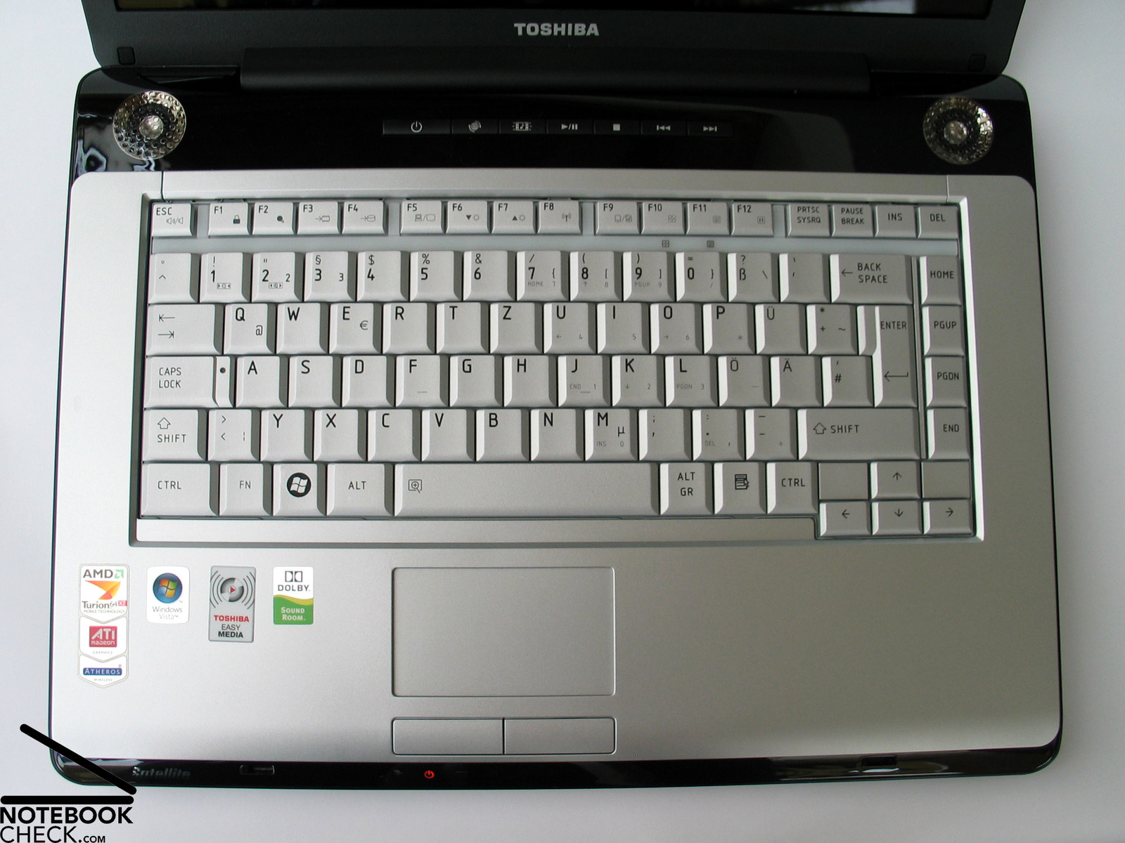 Toshiba Satellite A210 Modem Windows 7