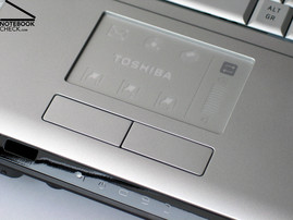 Toshiba Satellite X200 Touch pad