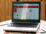 Toshiba Satellite U200 Outdoors