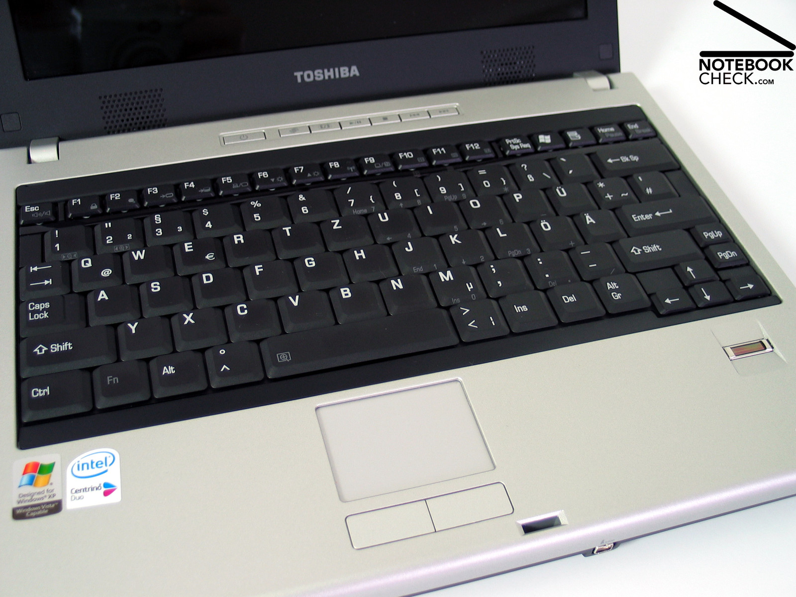 Review Toshiba Satellite U200-196 Notebook