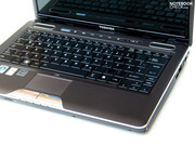 The laptop also ranks well in terms of stability, which is no wonder due to the weighty case.