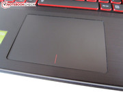 The extremely wobbly touchpad is one of the Y510p's biggest shortcomings.