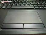 Well-sized touchpad