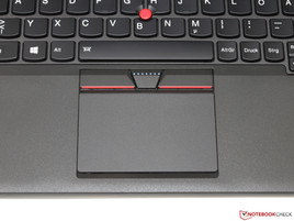 Touchpad and TrackPoint