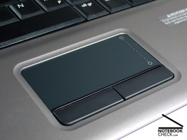 Touch pad of the HP Compaq 6720s