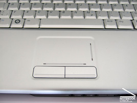 Touch pad of the Dell Inspiron 1525