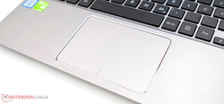 The Touchpad of the Asus ZenBook UX310UQ.