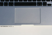 The trackpad is also narrower than in other MacBooks.