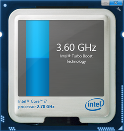Turbo Boost up to 3.6 GHz for a single core