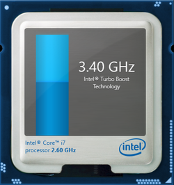 Turbo Boost up to 3.4 GHz for a single core