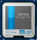 Core i5-2430M: 3.0 GHz maximum clock