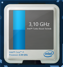 3.1 GHz max Turbo