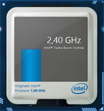 2.4 GHz maximum turbo clock speed