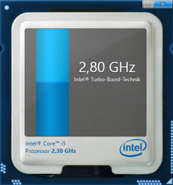 2.8 GHz maximum Turbo Boost