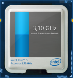 Maximum Turbo clock of 3.1 GHz