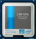 2.8 GHz maximum Turbo clock speed