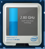 Turbo Boost up to 2.9 GHz for a single active core