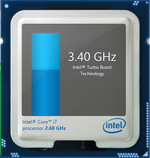Turbo Boost up to 3.6 GHz for single-core operations