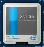 Maximum Turbo clock rate: 2.6 GHz