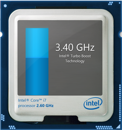 Turbo Boost up to 3.4 GHz for four active cores