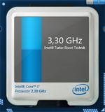 3,3 GHz maximum turbo frequency