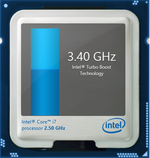 Turbo Boost up to 3.4 GHz for 2 active cores