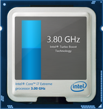 Intel Turbo Boost up to 3.7 GHz and 3.9 GHz for 4 active cores and 1 active core, respectively