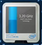 3.2 GHz - max Turbo speed