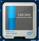 3.6 GHz maximum turbo clock speed