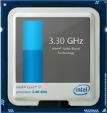 Intel Turbo Boost up to 3.2 GHz and 3.4 GHz for 4 active cores and 1 active core, respectively