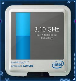 Turbo Boost up to 3.1 GHz for a single core