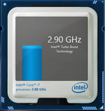 Turbo Boost up to 3.8 GHz for a single core