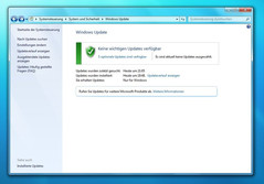 The update window on Windows 7 corresponds to the details of that of Vista