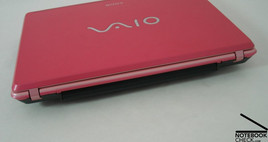 Sony Vaio VGN-C1 Interfaces