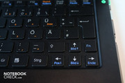 Small cursor keys