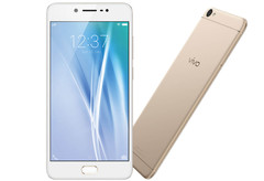 The Vivo V5 is an entry level phone with a high resolution 20 megapixel selfie cam.