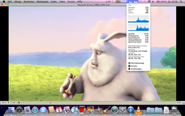 Big Buck Bunny 1080p VLC - much higher CPU usage