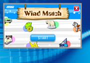 MSI has included learning and entertainment programs for children, for example the Wind Match, where one can learn English.