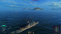 Word of Warships: Playable in 1080p, medium details