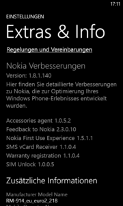 Windows Phone 8 is appropriate for the price.