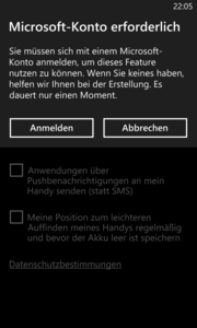 ...has remained the same: Windows Phone 8, ...